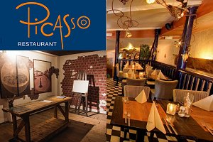 Escape Room & Luxe menu Restaurant Picasso